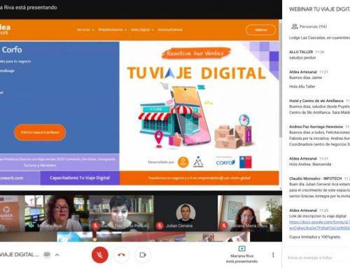 Exitoso webinar binacional de Aldea Cowork: Provincias de Osorno, del Neuquén y de Río Negro, reactivan economía con negocios digitales.