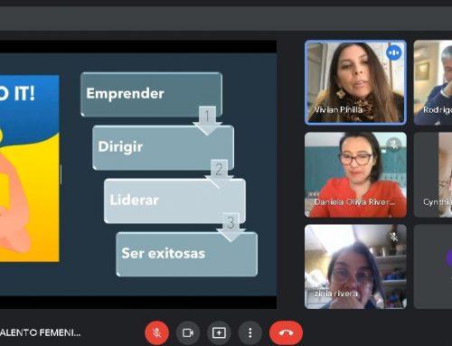 Aldea Cowork reúne nuevamente a su comunidad femenina en seminario digital.